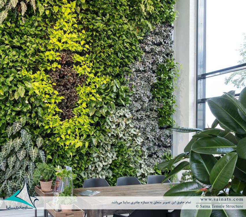 دیوار سبز | گرین وال | green wall