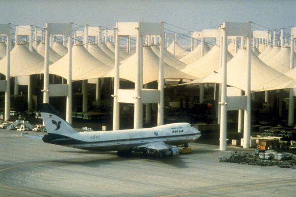 ترمینال حج فرودگاه جده | تاریخچه سازه چادری