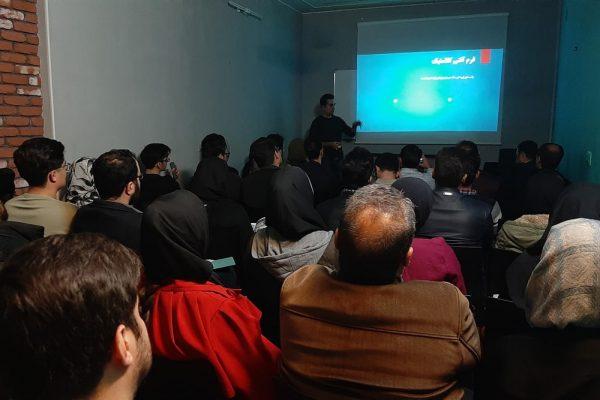 برگزاری کلاس آشنایی با سازه چادری در مدرسه هنر و معماری ایوان
