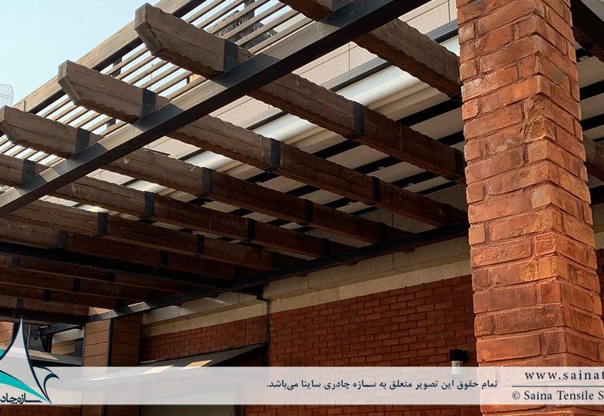 اجرای پروژه سقف متحرک روفگاردن آجودانیه