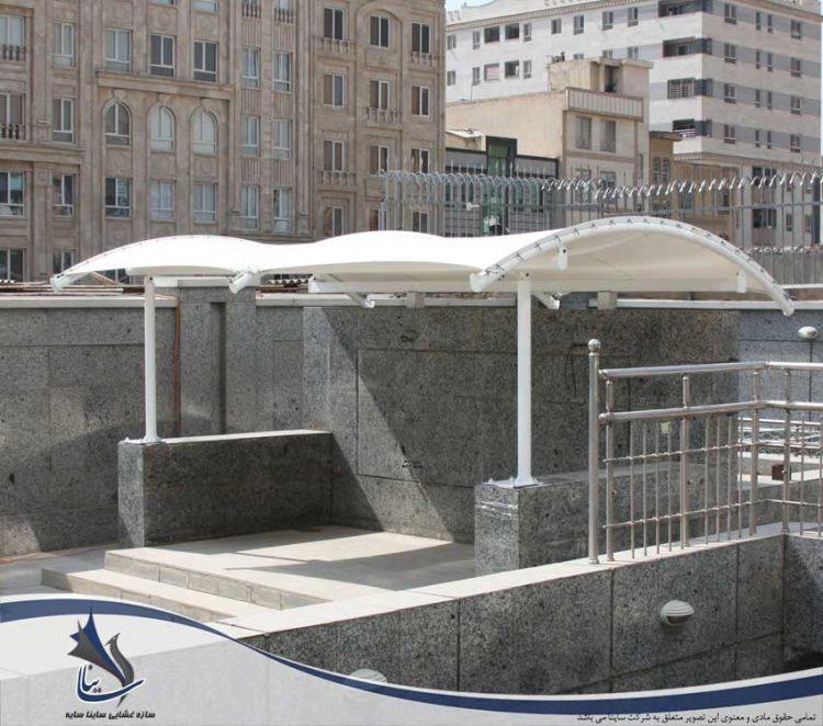 پروژه سایبان محوطه فضای سبز