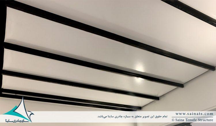 سقف متحرک پارچه ای پاسیو ولنجک