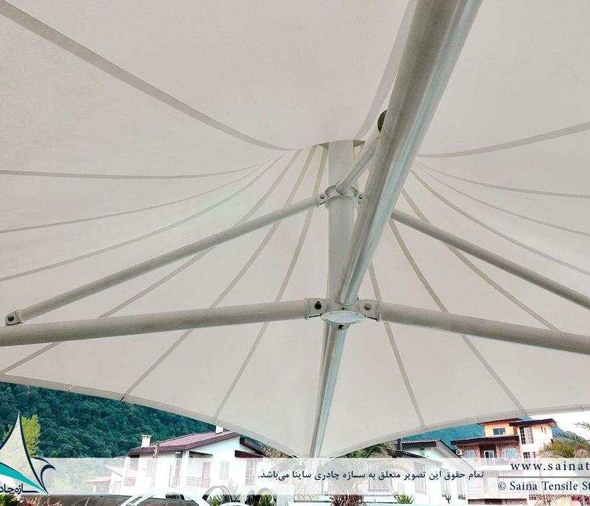 سایبان چادری استخر ویلا