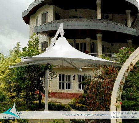 سایبان چادری استخر
