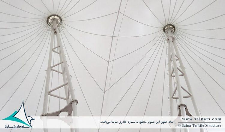 سایبان پارچه ای تکیه بلادیان