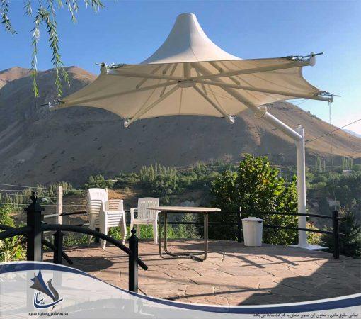 آلاچیق چادری ویلا