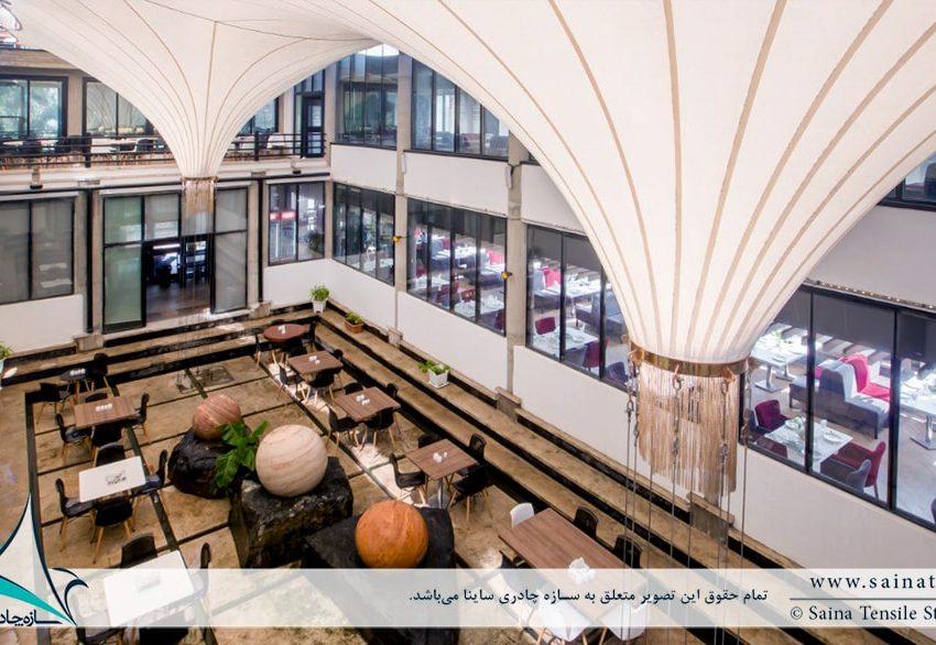 پوشش وید مجتمع رفاهی بانک شهر ایزدشهر