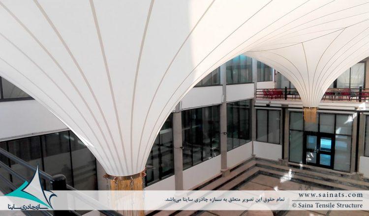 اجرای پوشش وید مجتمع رفاهی بانک شهر در ایزدشهر