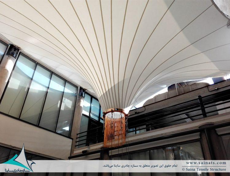 پروژه اجرای پوشش وید مجتمع رفاهی بانک شهر در ایزدشهر