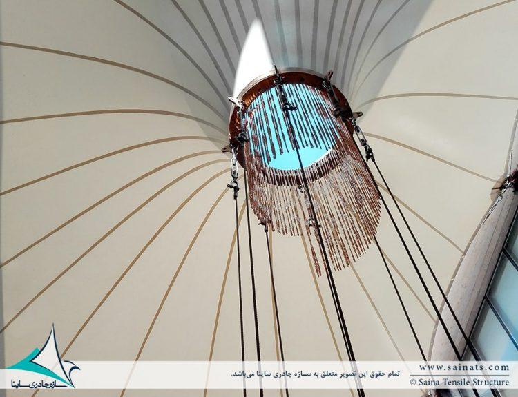 پوشش وید مجتمع رفاهی بانک شهر در ایزدشهر