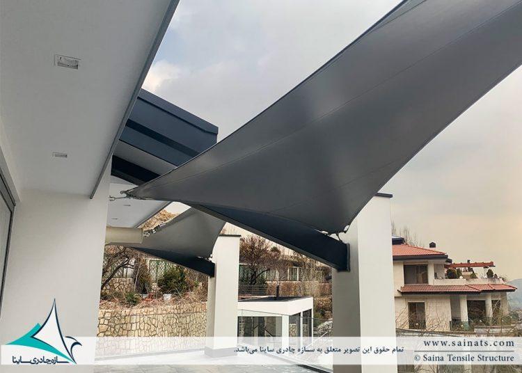 سازه چادری شهرک باستی هیلز