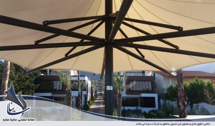 الاچیق چادری ویلا سی سنگان