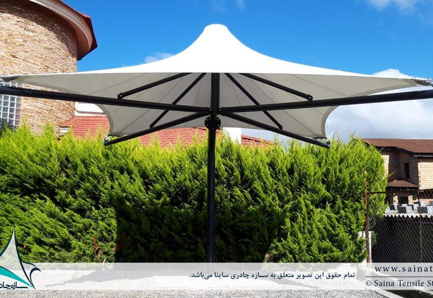 سایبان تراس ویلا خزرشهر
